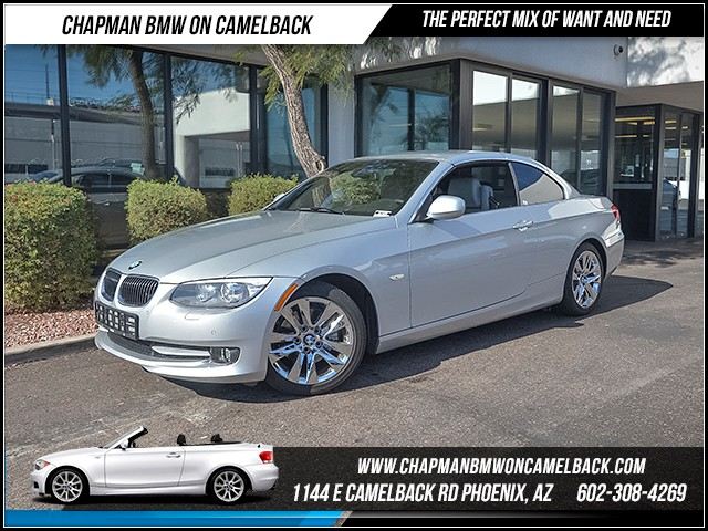 2013 BMW 3-Series Conv 328i 10569 miles Premium Package Convenience Package Cold Weather Packag