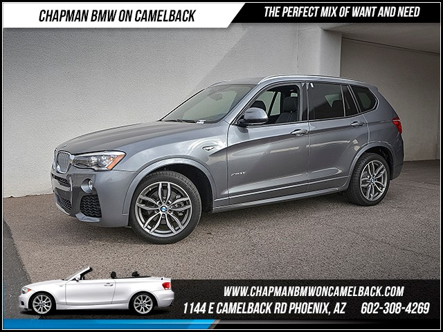 2016 BMW X3 xDrive35i 14961 miles 1127 E Camelback Rd 6023852286 Under Construction Sales Eve