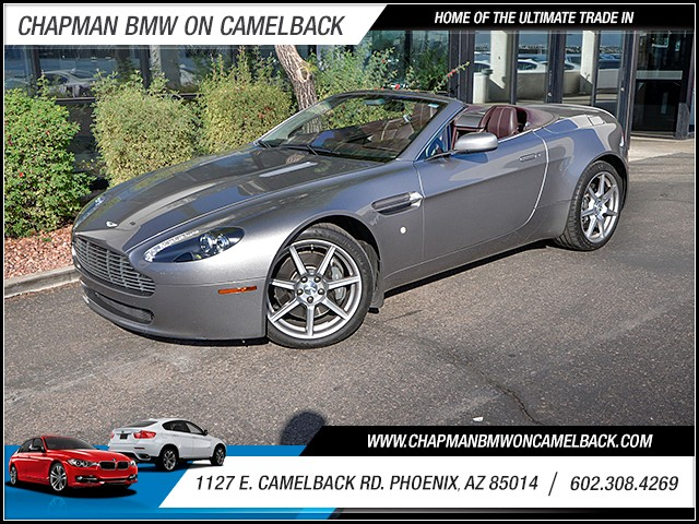 2007 Aston Martin V8 Vantage Roadster 40523 miles Phone pre-wired for phone Parking sensors rear