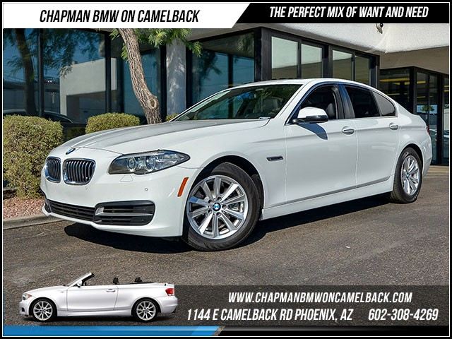 2014 BMW 5-Series 528i 26766 miles Driver Assistance Package Satellite communications BMW Assist