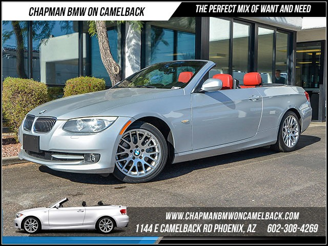 2012 BMW 3-Series Conv 328i 63557 miles Certified Year End Sales Event Exclusively at 1144 E Cam