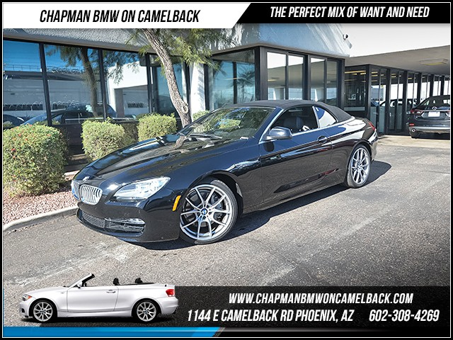 2012 BMW 6-Series 650i 43268 miles Cold Weather Package Luxury Seating Package Premium Sound Pa