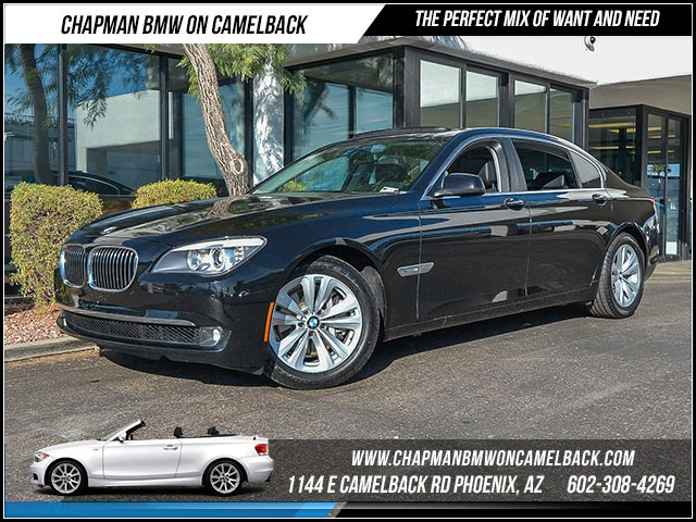 2012 BMW 7-Series 740Li 51491 miles Certified Year End Sales Event Exclusively at 1144 E Camelba