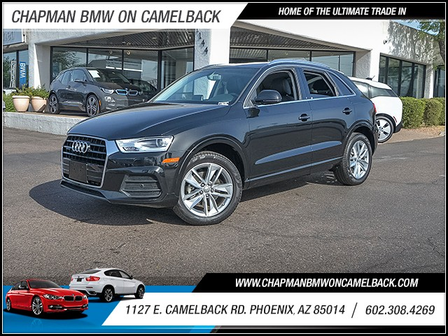 2016 Audi Q3 20T quattro Prem Plus 10308 miles 6023852286 1127 E Camelback Rd Summer Sales