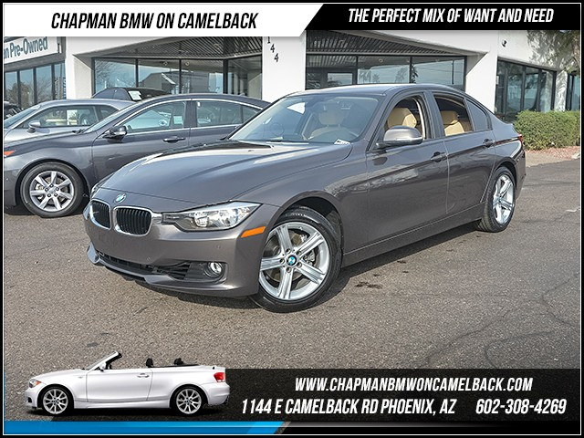 2014 BMW 3-Series Sdn 328i 22678 miles Driver Assistance Package Satellite communications BMW As