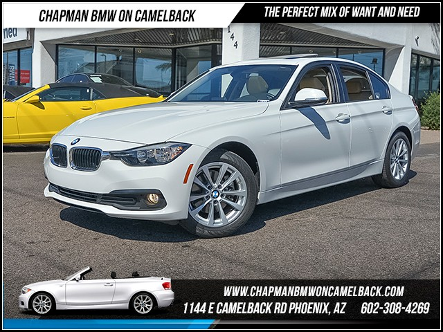 2016 BMW 3-Series Sdn 320i 13109 miles 6023852286 - 12th St and Camelback Chapman BMW on Camel