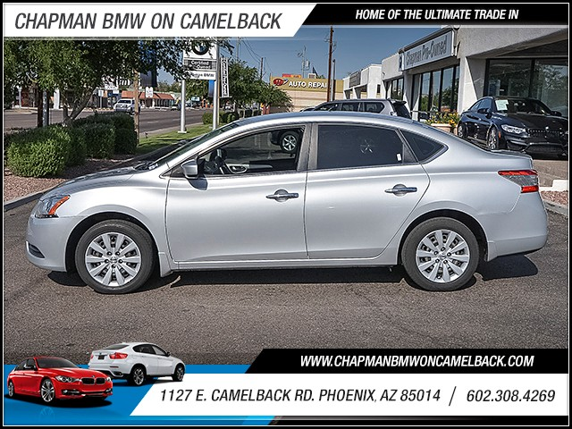 2014 Nissan Sentra SV 54182 miles 6023852286 1127 E Camelback Rd Chapman Value center on Cam