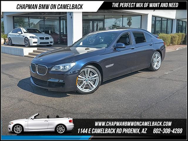 2014 BMW 7-Series 750i 10506 miles M Sport Package Sport Package Harman Kardon surround sound