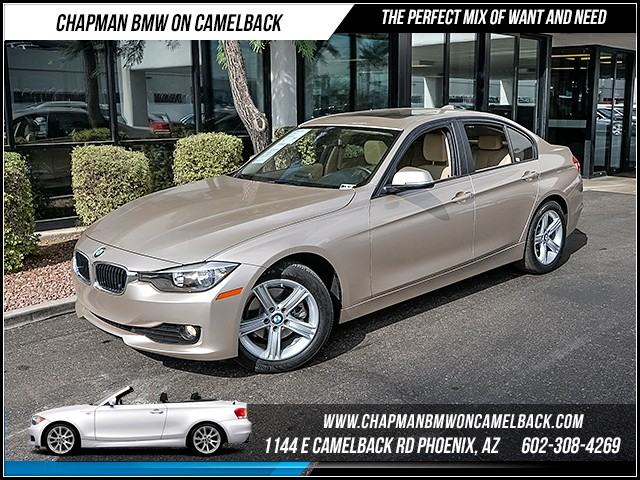 2015 BMW 3-Series 320i 13480 miles Satellite communications BMW Assist Wireless data link Blueto