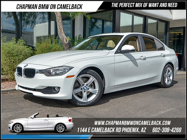 2014 BMW 3-Series Sdn 328d 48053 miles Moonroof Heated front seats Satellite communications BMW