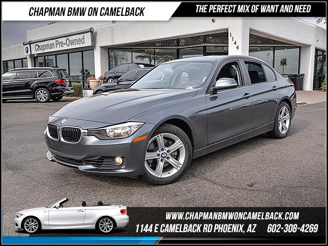 2013 BMW 3-Series Sdn 328i 34415 miles Premium Package Technology Package Satellite communicati