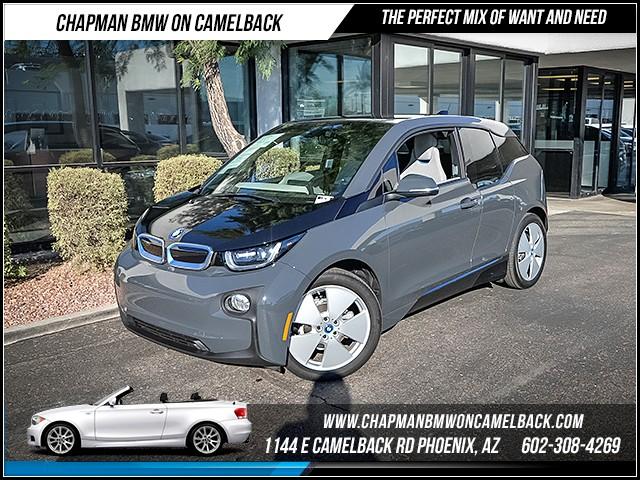 2014 BMW i3 Mega World Nav 21166 miles 602385228612th St and Camelback Chapman BMW on Came