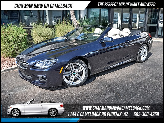 2014 BMW 6-Series Conv 640i 36892 miles M Sport Edition Driver Assistance Plus Executive Packag
