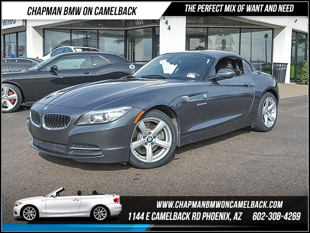 2015 BMW Z4 sDrive28i 55405 miles Technology Package Navigation Wireless data link Bluetooth S