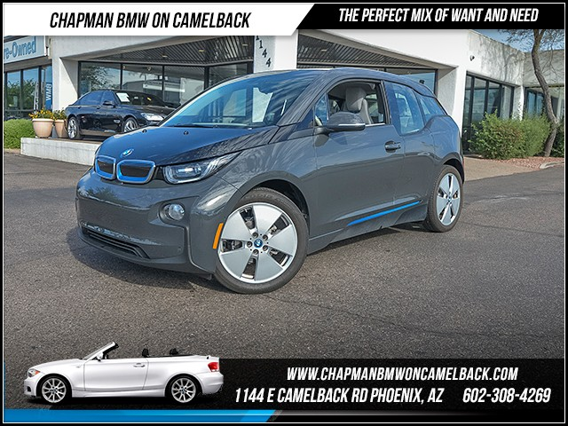 2015 BMW i3 10084 miles Mega World Parking Assistance Package Satellite communications BMW Assi