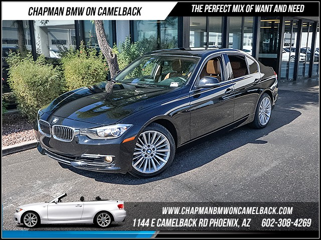 2014 BMW 3-Series Sdn 328i 26355 miles Luxury Line Premium Package Satellite communications BMW