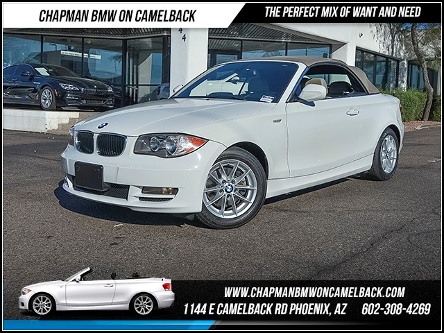 2011 BMW 1-Series Conv 128i 77260 miles Premium Package Heated front seats Phone pre-wired for