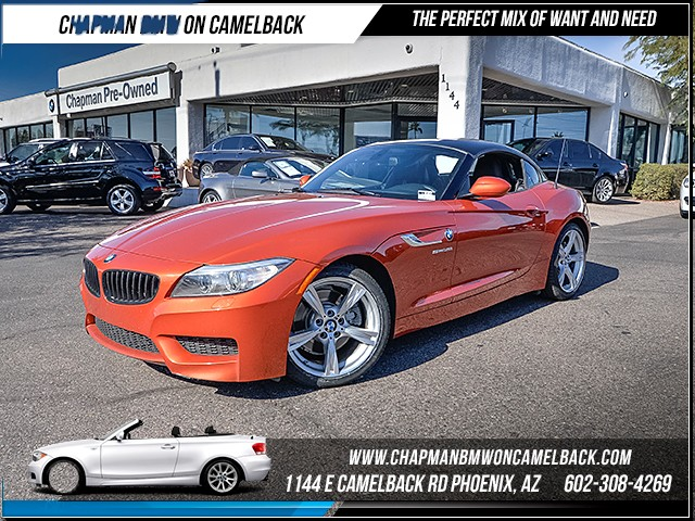 2014 BMW Z4 sDrive35i 44305 miles M SportHyper Orange Package Design Pure Traction  M pkg Sat