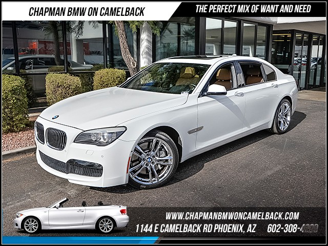 2012 BMW 7-Series 750Li MsptLux Seats Pkg Nav 46444 miles Certified Year End Sales Event Exclusi