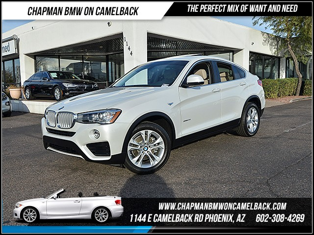 2015 BMW X4 xDrive28i 7577 miles Cold Weather Package Premium Package Technology Package Satel