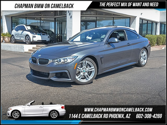 2015 BMW 4-Series 435i 30291 miles M Sport Package Technology Package Harman Kardon surround so