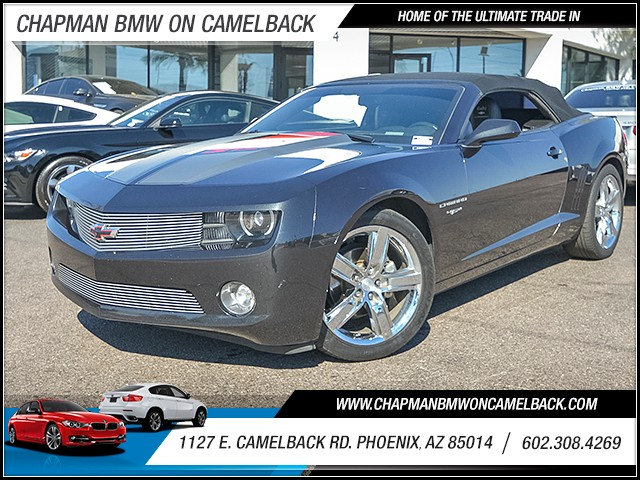 2012 Chevrolet Camaro LT 69589 miles 6023852286 1127 E Camelback Rd Chapman Value center on