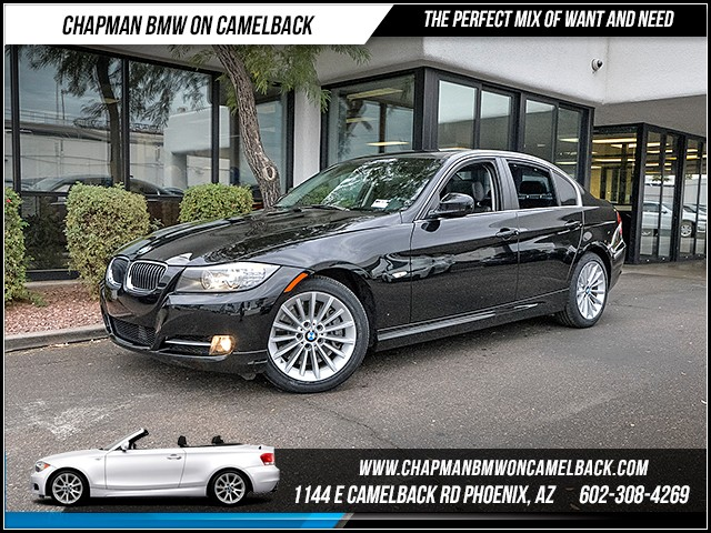 2011 BMW 3-Series Sdn 335i 36399 miles Premium Package Cruise control Anti-theft system alarm