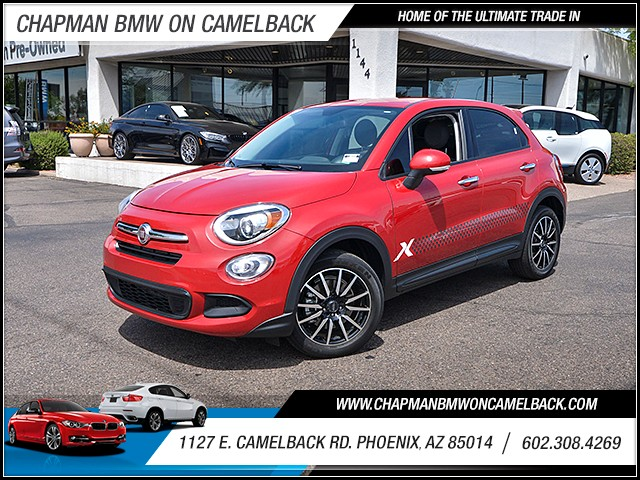 2016 FIAT 500X Easy 24581 miles Phone hands free Phone voice operated Electronic messaging assi