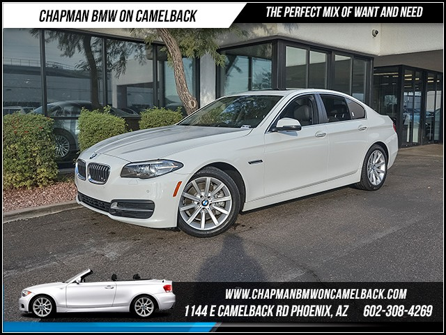 2014 BMW 5-Series 535i PremDriver Assist Pkg Nav 34717 miles Driving Assistance Package Premium