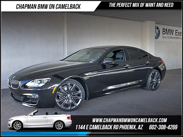 2015 BMW 6-Series 640i Gran Coupe 25569 miles M Sport Package Executive Package Lighting Packag