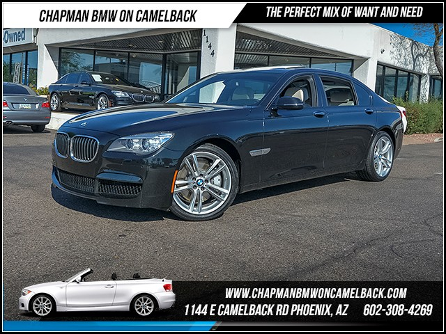 2014 BMW 7-Series 750Li 43402 miles 6023852286 - 12th St and Camelback Chapman BMW on Camelbac