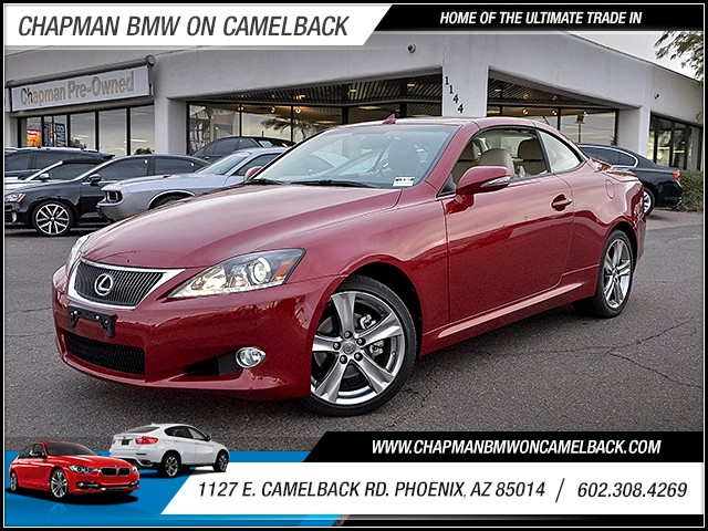 2014 Lexus IS 250C 9920 miles Pre-Owned located at 1127 E Camelback Rd in Phoenix is offering Yea