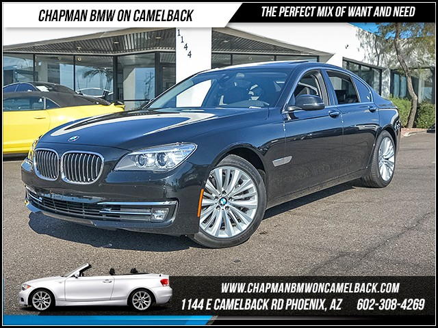 2015 BMW 7-Series 740i 40129 miles 6023852286 - 12th St and Camelback Chapman BMW on Camelback