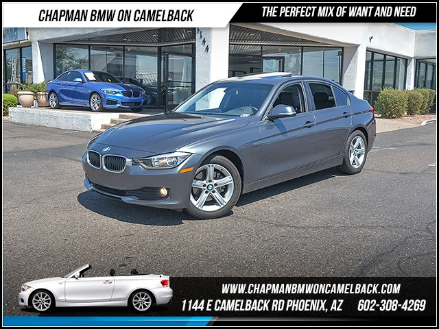 2014 BMW 3-Series Sdn 320i 42321 miles 6023852286 - 12th St and Camelback Chapman BMW on Camel