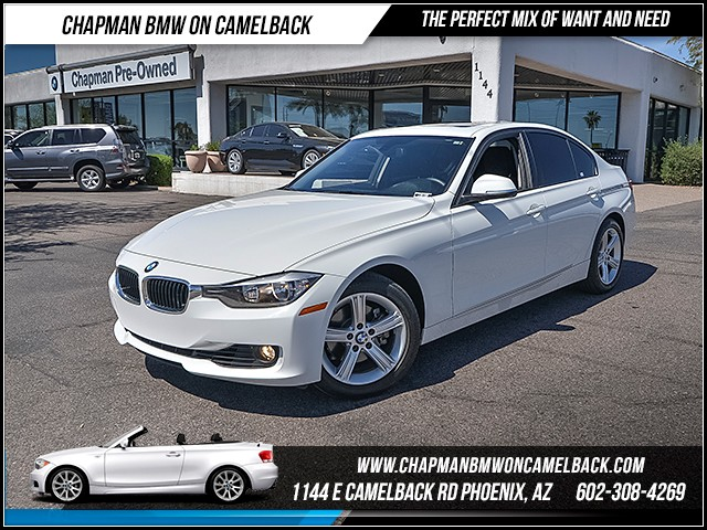 2014 BMW 3-Series Sdn 328i 45042 miles 6023852286 - 12th St and Camelback Chapman BMW on Camel