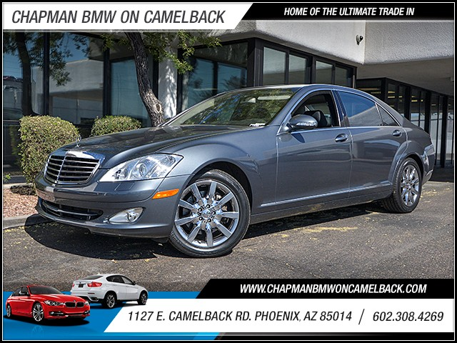 2007 Mercedes S-Class S 550 49992 miles Wireless data link Bluetooth Phone voice operated Satel