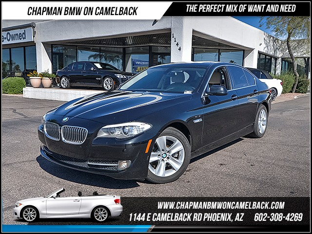 2012 BMW 5-Series 528i 47473 miles Premium Package Technology Package Wireless data link Blueto