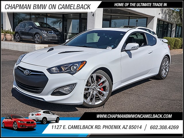 2015 Hyundai Genesis Coupe 38 Ultimate 30752 miles Wireless data link Bluetooth Real time traff
