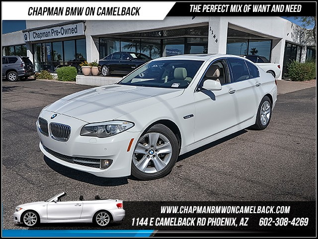 2013 BMW 5-Series 528i 61552 miles 6023852286 - 12th St and Camelback Chapman BMW on Camelback