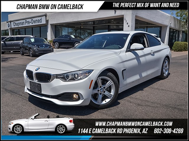 2014 BMW 4-Series 428i 18669 miles Premium Package Phone hands free Satellite communications BM