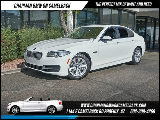2014 BMW 5-Series 528i 60950 miles Premium Package Real time traffic Phone hands free Wireless