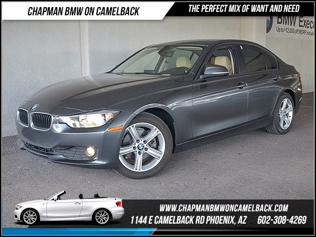 2015 BMW 3-Series Sdn 320i 34917 miles Premium Package Wireless data link Bl