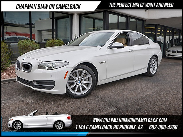 2014 BMW 5-Series 535i 23459 miles Driving Assistance Package Premium Package Multi-contour sea