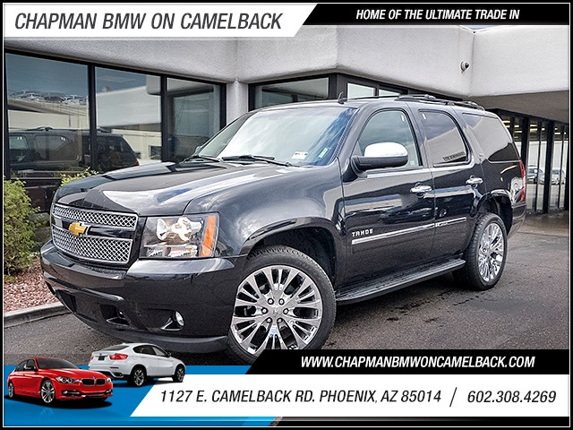 2012 Chevrolet Tahoe LTZ 103764 miles Real time traffic Phone hands free Wireless data link Blu