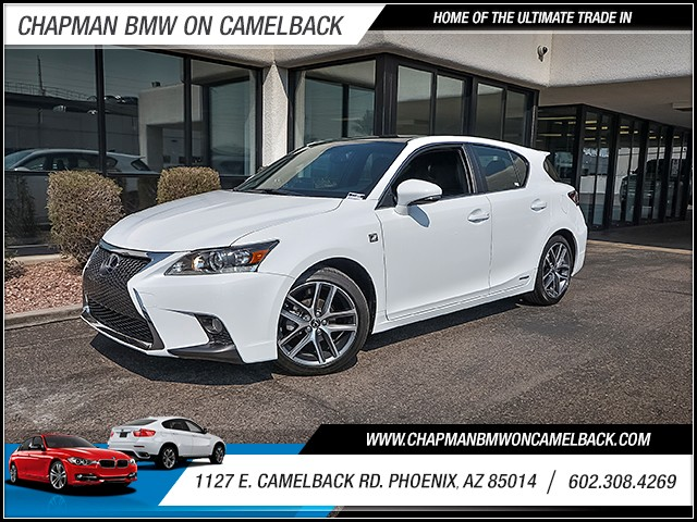 2017 Lexus CT 200h 4011 miles Chapman Value Center on Camelback is specializing in late model cle