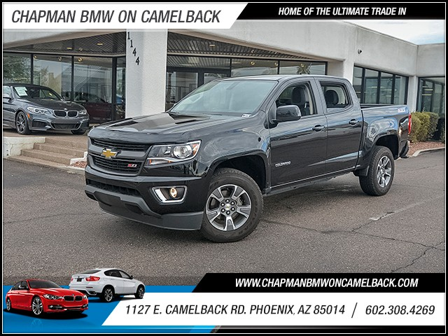 2015 Chevrolet Colorado Z71 Crew Cab 27465 miles Satellite communications OnStar Wifi hotspot W