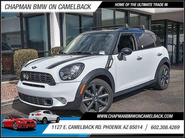 2013 MINI Countryman Cooper S 61323 miles Phone hands free Wireless data link Bluetooth Cruise