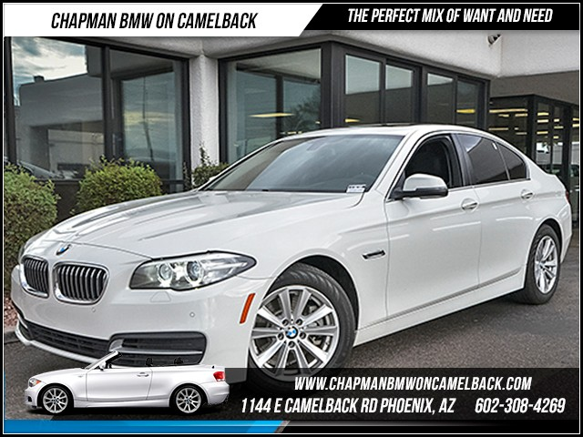 2016 BMW 5-Series 528i 7882 miles Driving Assistance Package Premium Package Heated front seats