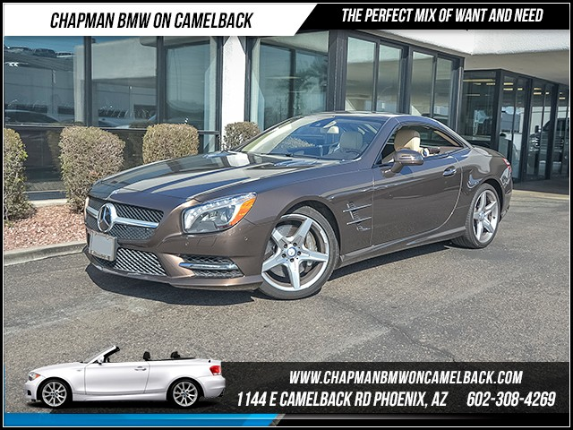 2014 Mercedes SL-Class SL 550 19644 miles 6023852286 Chapman Value Center in Phoenix special