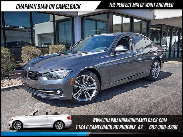 2016 BMW 3-Series Sdn 328i 15491 miles Sport Package Driver Assistance Package Phone hands free